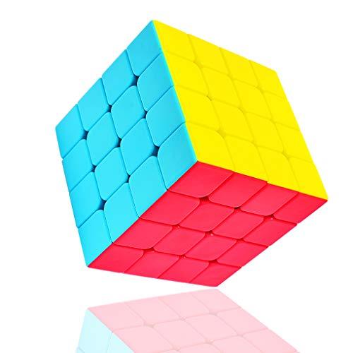 TOYESS Speed Magic Cube 4x4 Stickerless, Smooth Magic Cube 4x4x4, Professional Puzzle Cube, Brain...