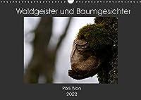 Waldgeister und Baumgesichter (Wandkalender 2022 DIN A3 quer): Gut versteckt in der Natur warten skurrile Lebewesen darauf entdeckt zu werden. (Monatskalender, 14 Seiten )