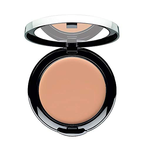 ARTDECO Double Finish, deckende Puder Creme Foundation, Nr. 5, beige cognac