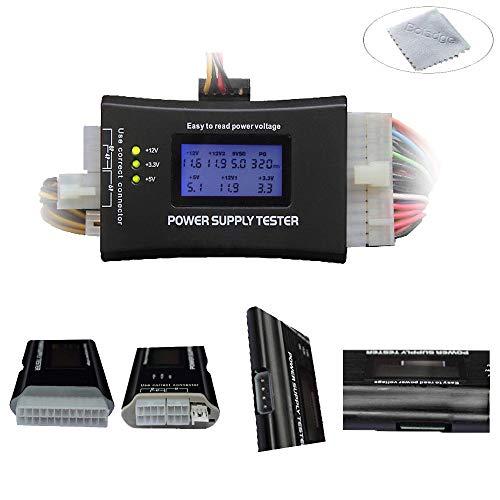 Boladge 20 24 Pin ATX BTX ITX Leistungserkennung Werkzeug LCD Display Computer Stromversorgung Tester
