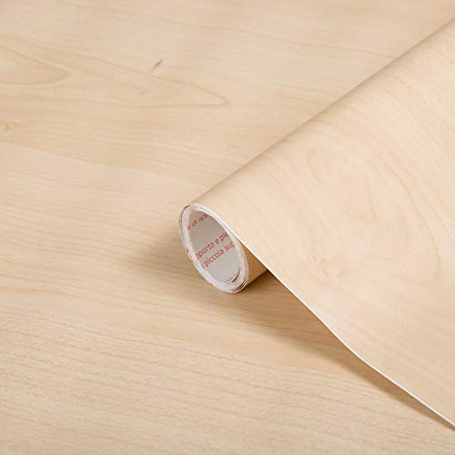 "d-c-fix self-adhesive film Maple Wood 17.7'' x 78.7"""