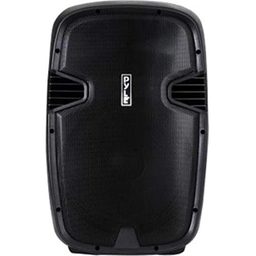 """Pyle 1600 Watt, 15"""" Bluetooth PA Speaker-Indoor/Outdoor Portable Sound System with (2) UHF Wireless Microphones Rechargeable Battery, Audio Recording, USB/SD Readers, FM Radio (PPHP1535WMU)"""