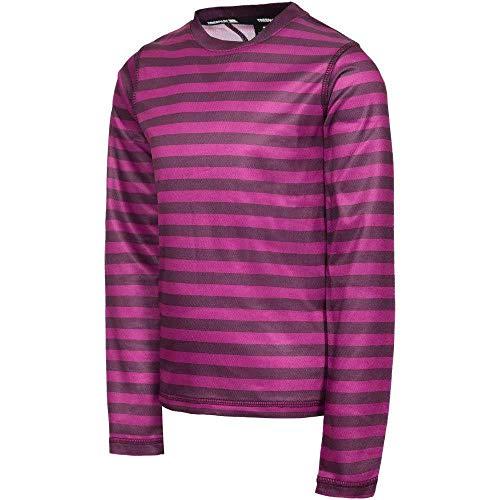 Trespass OAF T-Shirt Manches Longues Garçon, Violet, FR (Taille Fabricant : Unique)