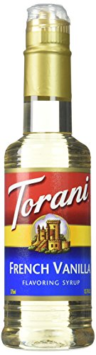 Torani French Vanilla Syrup 12.7 Fl Oz (Pack of 4)