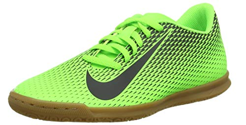 Nike Bravata II IC, Scarpe da Calcio Unisex-Adulto, Verde Black/Electric Green 303, 42 EU