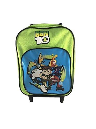 Zaino Scuola Mini Trolley Asilo Ben 10 Verde