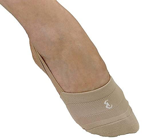 Bernit Zapatos de Gymnasia Ritmica   Zapatillas de Gimnasia rítmica Medias   Zapatos de Danza Ballet   Gimnasia Rítmica para Mujeres Niñas Pies Cómodo   color carne   tamaño 38 - 40