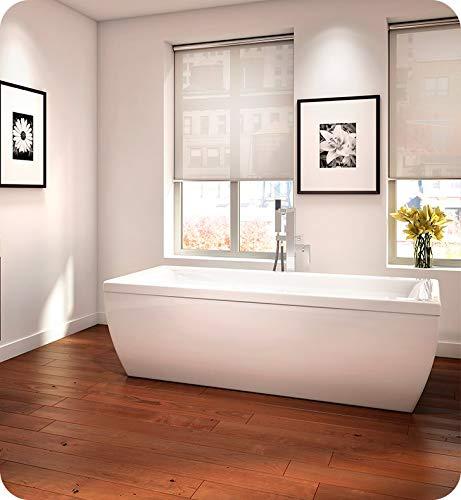 For Sale! NEPTUNE Freestanding SAPHYR Bathtub 38x72, Mass-Air/Activ-Air, Sandbar, High Gloss Acrylic