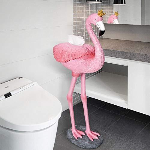 ROTOOY Tissue Boxescreative Flamingo Bad Handtuch Box Wc Handtuchhalter Küche Handtuchhalter Wohnzimmer Tablett