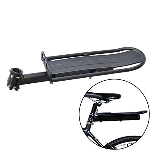 Zreal Universele transportdrager voor bagagedrager, inklapbare houder, aluminiumlegering, houder voor achterwielpalen, fiets