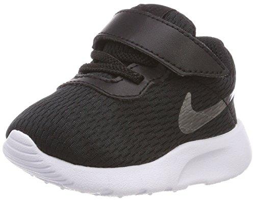 Nike Tanjun (TDV), Scarpe da Ginnastica Basse Bimbo 0-24, Nero (Black/Metallic Pewter-White 014), 23.5 EU