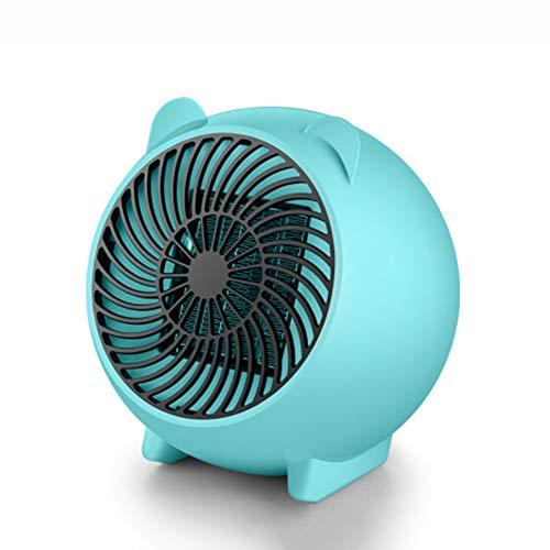 LYA 500W mini-tafelverwarming, Fast PTC luchtverwarmer beweegbare keramische ventilatorkachel elektrische warme luchtventilator met oververhittingsbeveiliging