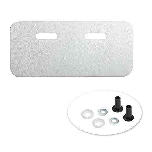 Schallschutzunterlage 240 x 550 mm Schallschutz Schallschutzmatte Waschbecken