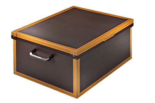 Kanguru Caja en Carton, Cuero, Grande