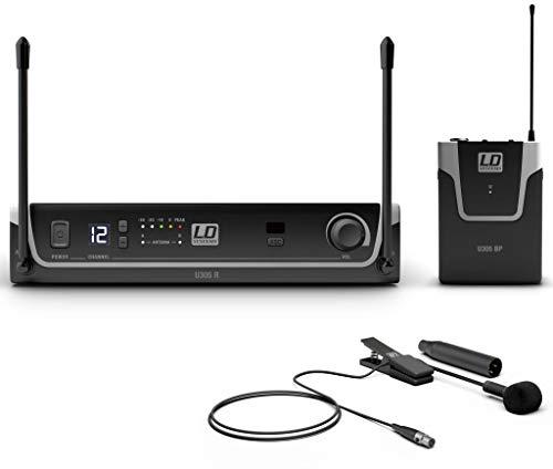 LD Systems U305 BPW Sistema inalámbrico con petaca y micrófono para Instrumentos de Viento