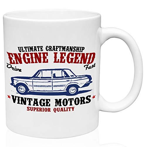 Fiat 125 special engine legend 11oz Ceramic High Quality Coffee Mug
