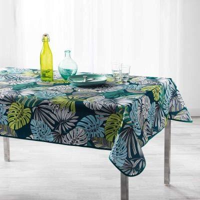 Arte Provenzale TOVAGLIA ANTIMACCHIA Dis. cap Nature Rettangolare, per Sala da Pranzo e Cucina (240_x_150_cm)