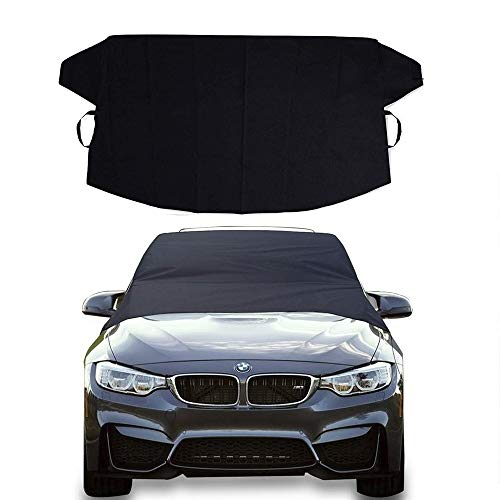 """EcoNour Car Windshield Cover for Snow, Ice and Wiper Protector 
