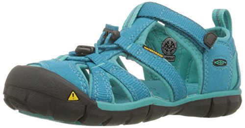 Keen Outdoor-Sandalen Seacamp II Youth baltic-caribbean sea, Gr. 35