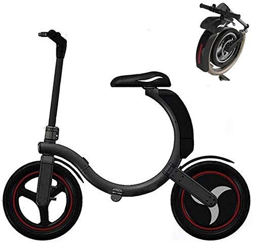 L.BAN 14 Pulgadas Bicicleta Electrica Plegables, 30km/h Motor Bicicleta Plegable, Bici Electricas...