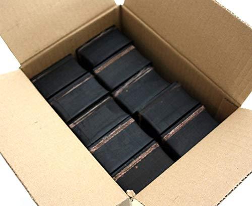85x85x23mm (Karton mit 8 Stück) Gummi-Auflage Unterlage Wagen-Heber Hebebühne eckig Auto Set Unterstellbock Klotz Rangier-Wagenheber Puffer Reifen Reifenwechsel LKW Räder KFZ Tuning Zubehör