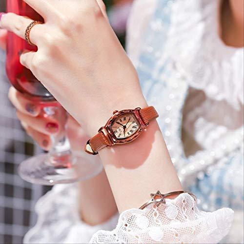 Miwaimao Genuino Nuevo Pequeño Fresco Y Simple Temperamento Reloj Mujer Marca Ins Viento Estudiante Versión Coreana Impermeable