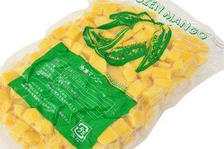 【冷凍】 マンゴー ダイス 「ナムドクマイ種」 1kg
