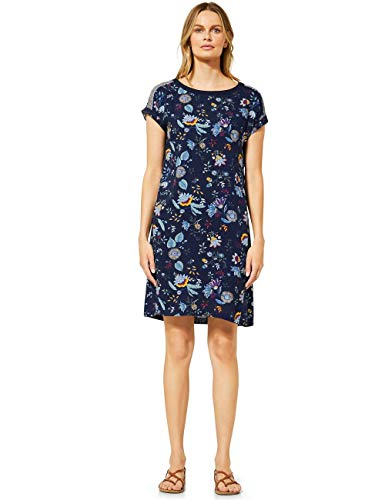 Cecil Damen 142699 Kleid, deep Blue, Large