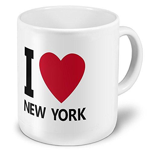 """XXL Jumbo-Städtetasse New York - XXL Jumbotasse mit Design \""""I Love New York\"""" - Städte-Tasse, Städte-Krug, Becher, Mug"""