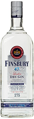 Finsbury Platinum 47 Prozent Distilled London Dry Gin (1 x 1 l)