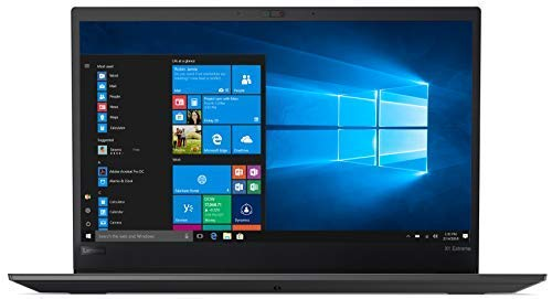 """Lenovo ThinkPad X1 Extreme Business Notebook: Intel 8th Gen i7-8750H (up to 4.1 GHz), NVIDIA GeForce GTX 1050, 32GB RAM, 1TB PCIe NVMe SSD, 15.6"""" FHD IPS Display, Windows 10 Pro Professional"""