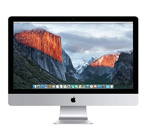 Apple iMac 21,5pouces, Intel Quad-Core i5 avec jusqu' 3,3 GHz Turbo, 500GB HDD, 4 Go RAM, Full HD, All-in-One, sans Souris et Clavier, modle trs Rapide (Reconditionné)