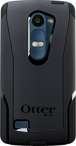 OtterBox Commuter Case for LG Leon LTE - Retail Packaging - Black