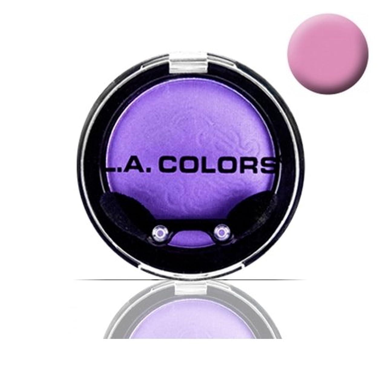 アスリート委員会口LA COLOR Eyeshadow Pot - Ballerina (並行輸入品)