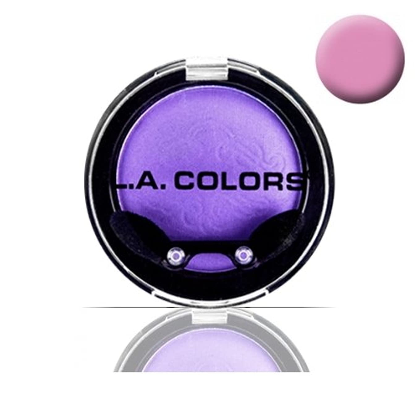 キャラバン教師の日補償LA COLOR Eyeshadow Pot - Ballerina (並行輸入品)
