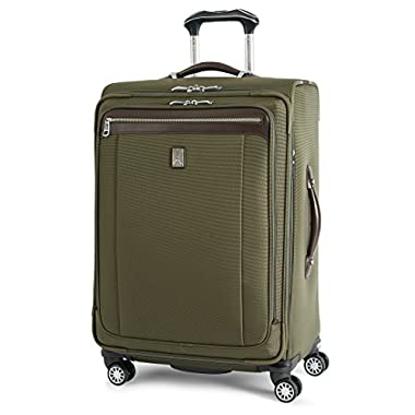 Travelpro Platinum Magna 2 Expandable Spinner Suiter Suitcase, 25-in, Olive