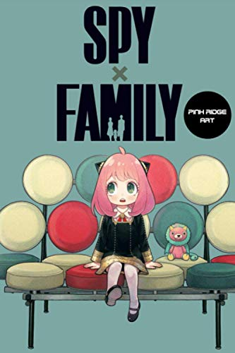 Composition Notebook: Spy x Family V.2 Anime Journal/Notebook, College Ruled 6' x 9' inches, 120 Pages