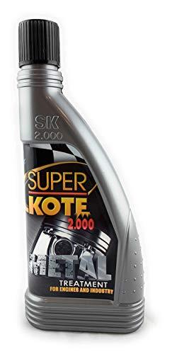 SUPERKOTE 2000 España Tratamiento ANTIFRICCION para EL Motor DE 1 A 3 litros DE Aceite Formato Motocicleta