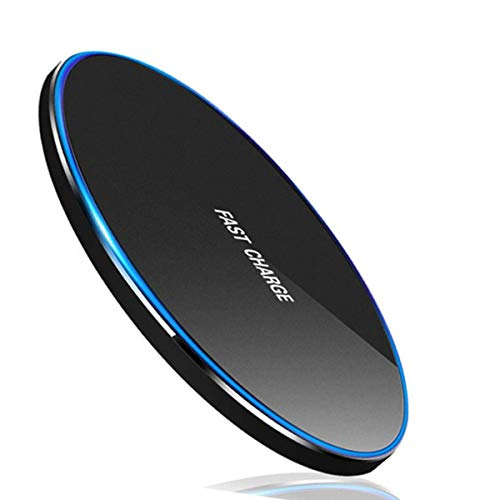 Wireless Charger, PowerWave Pad Qi-Certified 15W Max for iPhone SE (2020), 11, 11 Pro, 11 Pro Max, Xs Max, XR, XS, X, 8, 8 Plus, AirPods, Galaxy S20 S10 S9 S8, Note 10 9 8