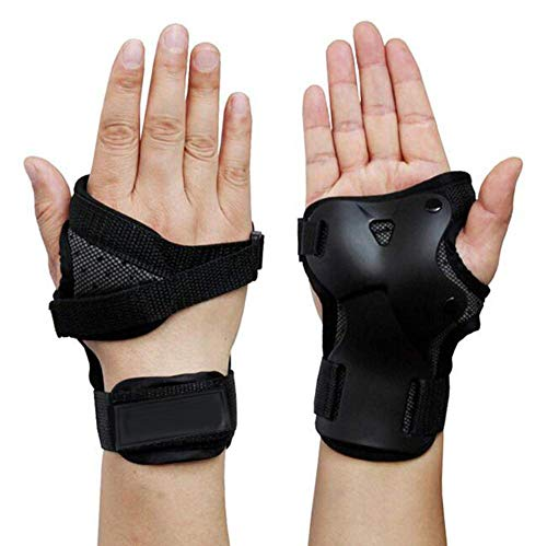 Yundxi Skating Snowboard Protektoren Handschuh Skifahren Handgelenk Unterstützung Handgelenkschoner Handschützer (M)
