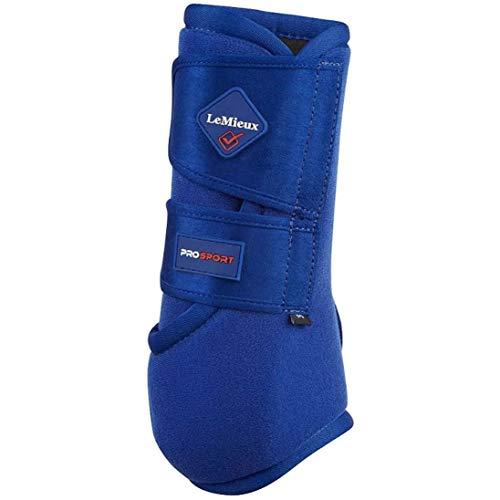 LeMieux Pro Sport Support Boots Large Benetton Blue