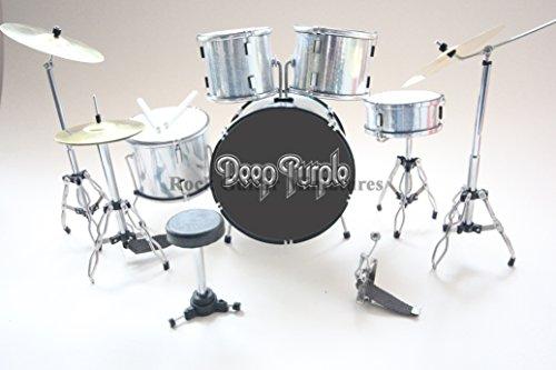 RGM382 Ian Paice Deep Purple Miniaturschlagzeug