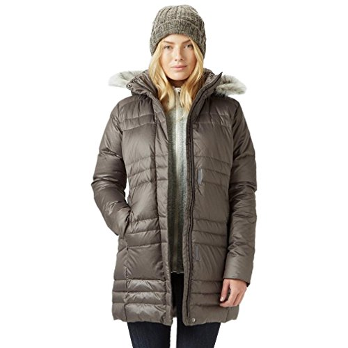 Columbia Mittellange Winterjacke für Damen, Mercury Maven IV Mid Jacket, Polyester, Grau (Mineshaft), Gr. S, 1557261