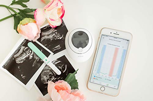 Mira-Fertility-Monitor-Kit-Includes-10-LH-Test-Wands-Bluetooth-Connectivity-FDA-Certified-Fertility-Monitor-Displays-Actual-Ovulation-Hormone-Concentrations