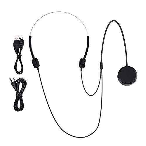 Koptelefoons voor sporthoortoestellen, headsets voor beengeleiding, koptelefoons voor Audiphone AUX IN-hoortoestellen voor gehoorproblemen binnen en buiten.