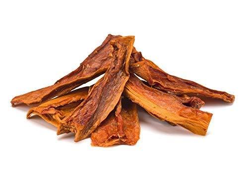 Getrocknete Bio Papaya-Streifen 1 kg – ungesüßt und ungeschwefelt – Rohkost – 1000g