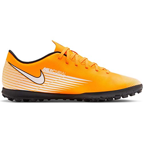 Nike Vapor 13 Club TF, Scarpe da Calcetto Man Uomo Junior Sport Soccer, Laser Orange/Black-White (Numeric_40_Point_5)