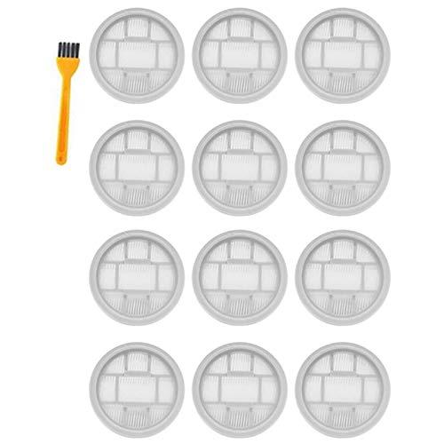 Basage 13 Piezas para Deerma Limpiador de Aspiradoras de Mano InaláMbrico VC20 VC21 VC20S Piezas de FiltracióN de Filtro Hepa Lavables