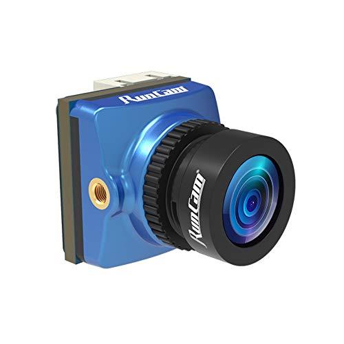 RunCam Phoenix 2 FPV Camera 1000TVL FOV 155 Degree 1/2inch Super Global WDR Image Sensor Mini Cam with 2.1mm Lens 4:3/16:9 Switchable for RC FPV Racing Drone Quadcopter