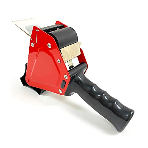24 Heavy Duty Tape Gun Dispenser Packing Machine Shipping Grip Roll Seal Cutter